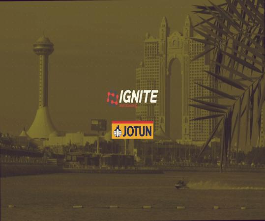 IGNITE & Jotun Teambuilding in Abu Dhabi