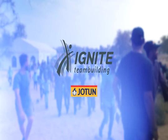 IGNITE TeamBuilding with Jotun at Aventura Park