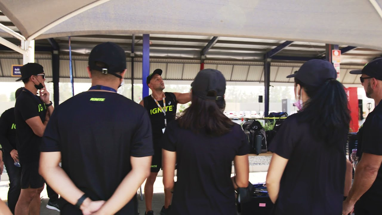 IGNITE team building with Jotun
